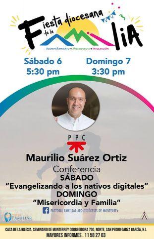 Conferencias Maurilio Suárez