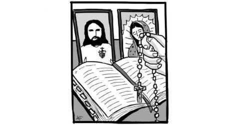 4 propuestas para rezar el Rosario