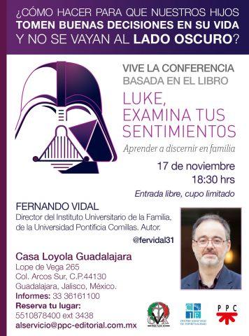 Conferencia Luke, examina tus sentimientos