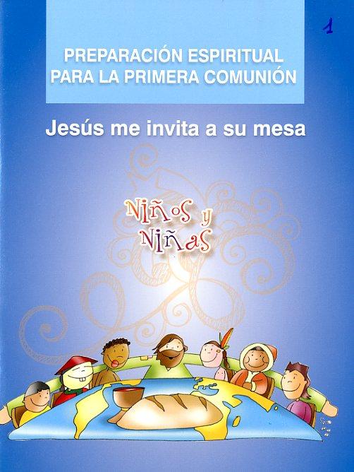 Preparación espiritual para la primera comunión. Niños y niñas