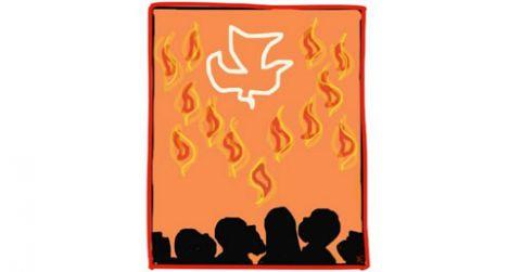 El fuego del Espíritu Santo