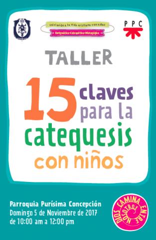 Taller 15 claves para la catequesis con niños