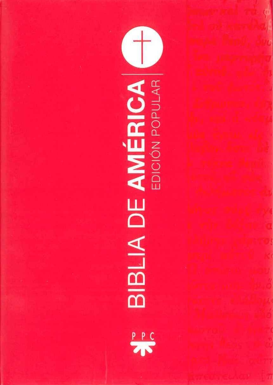 Biblia de América. Popular [Flexible, s/n]